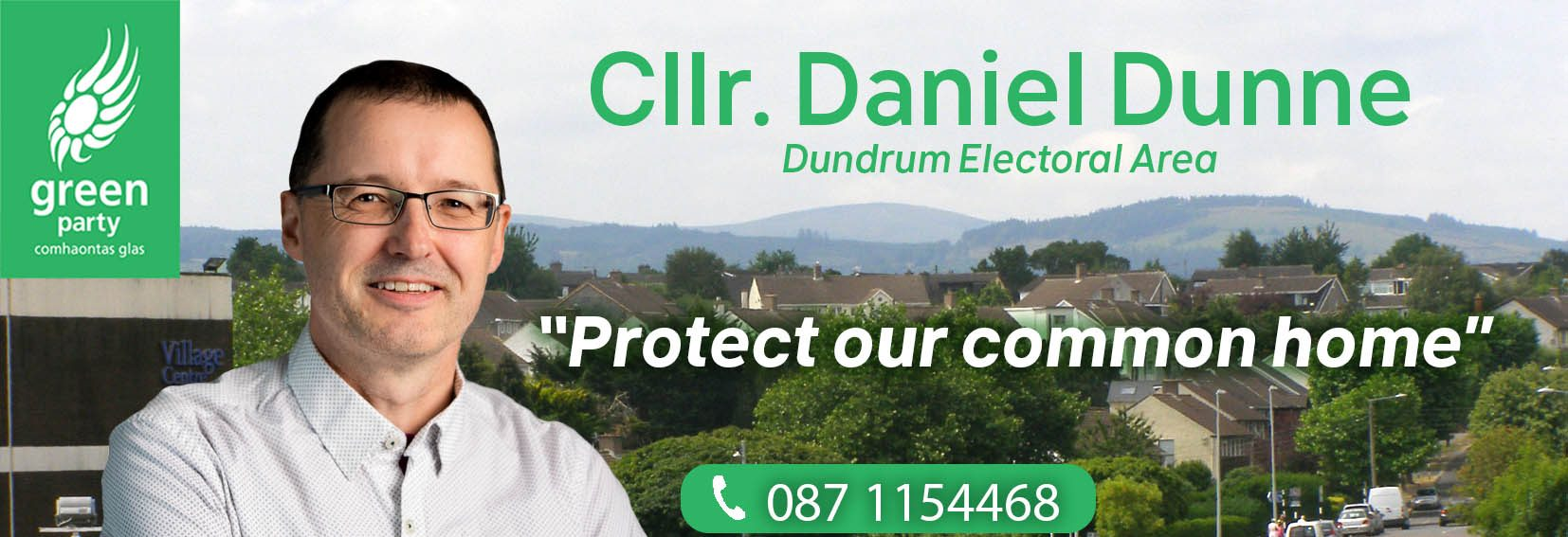 Daniel Dunne Local Election Candidate Dundrum